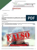 18-01-2021 Canal 5TV desmiente la publicación sobre dichos d.._