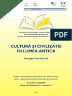 Marcu Mihaela Cultura Si Civilizatie Antica