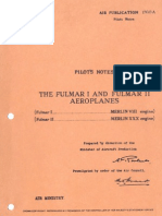 Fairey Fulmar Pilot Notes