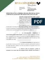 Solicito Programar Declaracion y Diligencias - Elias Leon