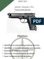 PISTOLA 9mm M975 BERETTA INSTR