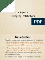 FEM3004 Chapter 3 Sampling Distribution