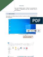 Instructivo básico informático