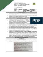 GUÍA DIDÁCTICA 1 -  11° A-B mayo