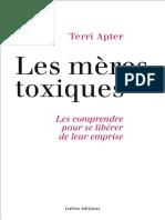 Les-Meres-toxiques-Terri-Apter