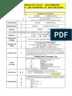 15 Aide Memoire Formules Et Fonctions Excel