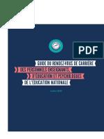 Guide Du Rendez Vous de Carri Re Des Personnels Enseignants d Ducation Et Psychologues de l Ducation Nationale 48144