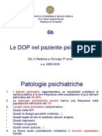 6b.DOP in Pz Psichiatrico