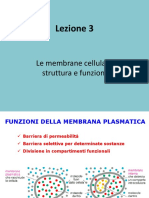 BIOAPP_TEC_18 Lez 3 Le membrane cellulari
