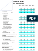 CMA Report Format 2011-2012