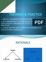 THEORIES & PRACTICE