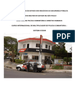 curso internacional de multiplicador de policia comunitaria