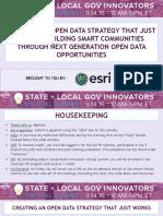 building smart communities through next generation open data