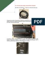 Guida configurazione microfono