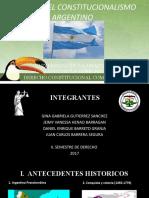 Final Historia Del Constitucionalismo Argentino