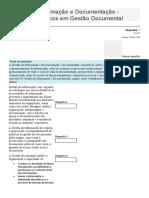 Gestão da Informação e Documentação