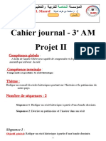3am Cahier Journal Projet 2