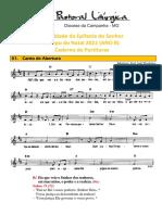 Partituras Natal Do Senhor - Solenidade Epifania Do Senhor Ano b 03-01-2021