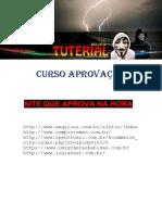 CURSO DE APROVAÇÃO