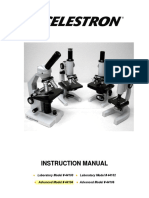 Celestron 44104 microscope User Manual