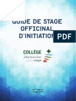 Guide de Stage Officinal 26e Edition 2019