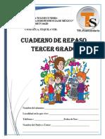 Cuadernillo Tercer Grado Agosto 2020