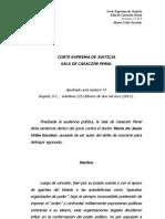 Sentencia Mario Uribe