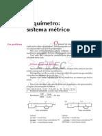metrologia - paquimetro