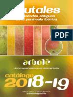 Catálogo Arbolé frutales 2018-19