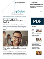 Emotional Intelligence Toolkit - HelpGuide