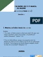 3. LA RELACIÓN ENTRE JESÚS Y MARÍA, SU