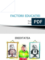 FactoriI educației prezentare