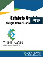 9. Estatuto Orgánico del CUNLIMON (1) (4)