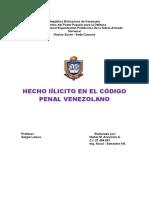 Hecho ilícito. Alvaronis Núñez- Ing. Naval