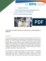 Programa COVID19 SaludOcu - 2020 SPA