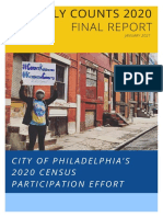 Philly Counts Final Report 1.28.2021