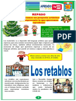REPASO DE ARTE Y CULTURA - 18 DE DICIEMBRE
