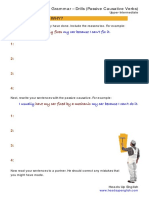 Causative Passive Drills