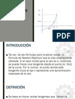 8. MÉTODO DE NEWTON RAPHSON