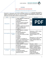 COMIPEMS, ESPAÑOL, ALUMNOS, UNIDAD 1 A 3