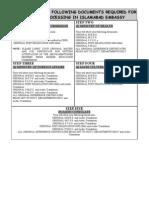 DOC REQRD ISLAMABAD VISA(a)
