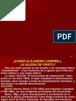 P560 - Fundó ALEJANDRO CAMPBELL la iglesia de Cristo¿