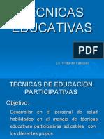 TECNICAS EDUCATIVAS 2010