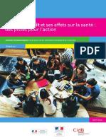 Dossier Le Son Le Bruit Pistes Pour Actions CIDB 2017