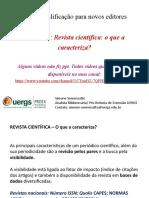curso de editoração de revista UERGS