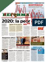 El Reforma 30 Enero 2021
