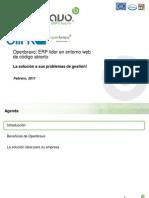 Openbravo ERP End Client Presentation_ES_FEB11_INT