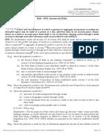 Rule 6DD Cash Payment