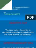 4.2 The mole concept,,