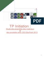 TP propriétés des matériaux_Licence DIP_2019
